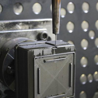 5-axis machining dmg graphite electrode for erosion of all electric box cover