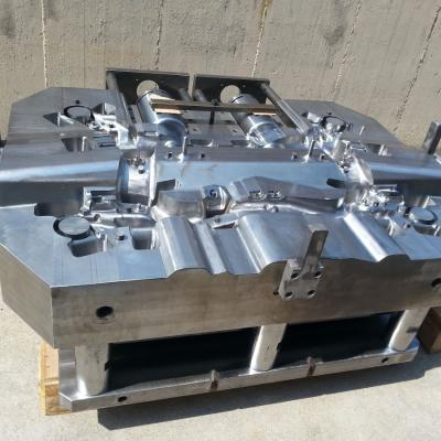Low-pressure die automotive chassis